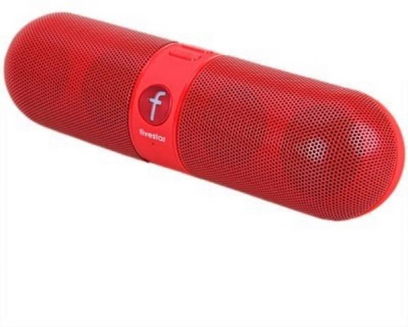 Iktac speaker with FM, micro SD card slot 4 W Portable Bluetooth Home Audio  Speaker