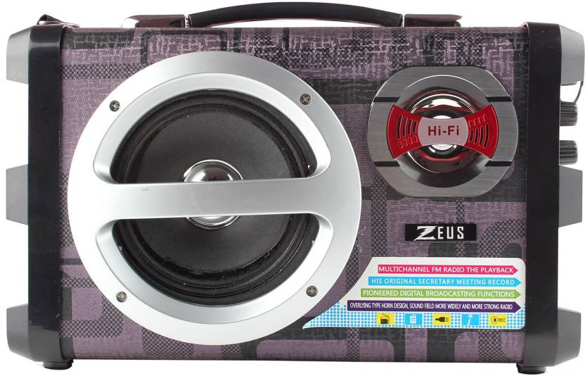 Buy Zeus Zeus Electra Speaker Portable Speaker With Bluetooth Fm