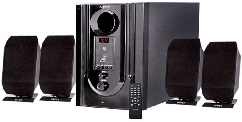 ntex IT-301N Home Audio Speaker  (Black, 4.1 Channel)