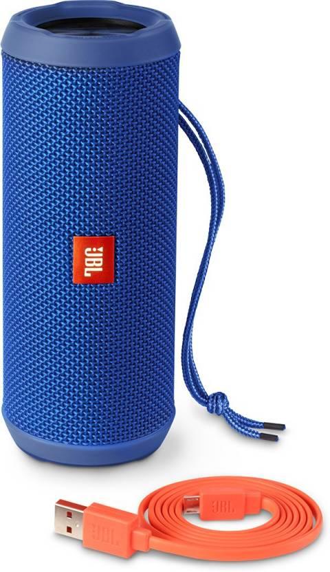 JBL FLIP 3 BLUE Portable Bluetooth Laptop/Desktop Speaker