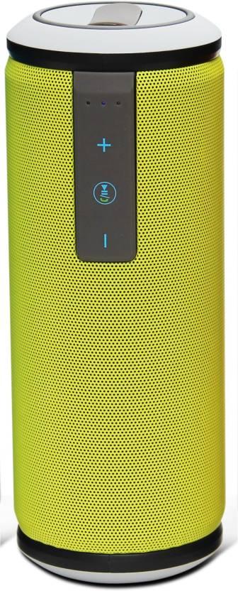 Zakk Boom Miami Water resistant High Bass Powerful Portable Bluetooth Speaker Green, Mono Channel