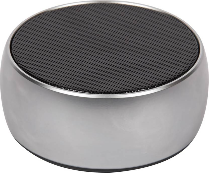 ZYDECO BS02 4 W Portable Bluetooth Speaker Silver, 2.1 Channel