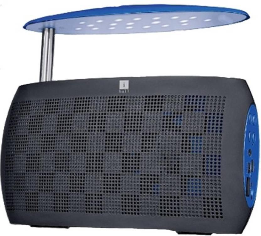Iball Bluetooth Portable Speaker: Buy Iball Musi LiveBT30 With LED Light & FM Radio Portable Bluetooth Mobile/Tablet Speaker