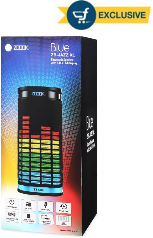 Zoook ZB-JAZZ XL Portable Bluetooth Mobile/Tablet Speaker