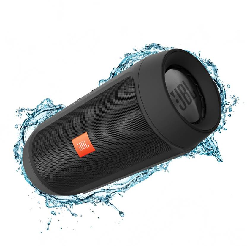 JBL Charge 2 Plus Black Portable Mobile/Tablet Speaker