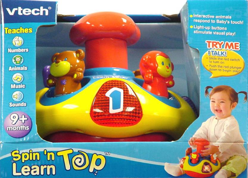 Top Vtech Toys : Vtech spin n learn top shop for