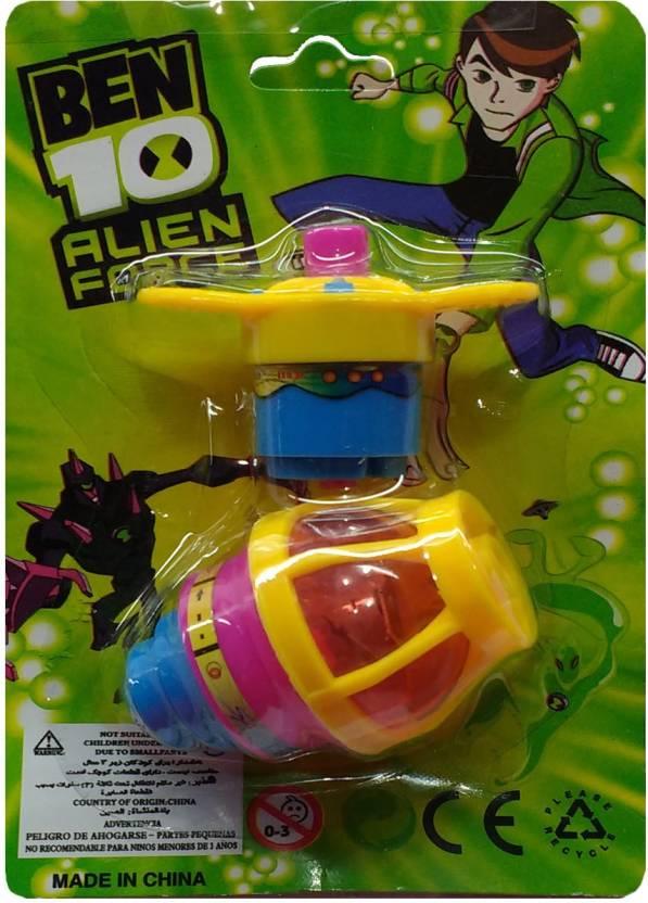 ffa616db9ce6 Darling Toys Ben 10 lighting spinning top - Ben 10 lighting spinning ...