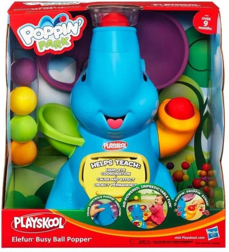 Best Ball Popper Toys For Kids : Playskool poppin park elefun busy ball popper