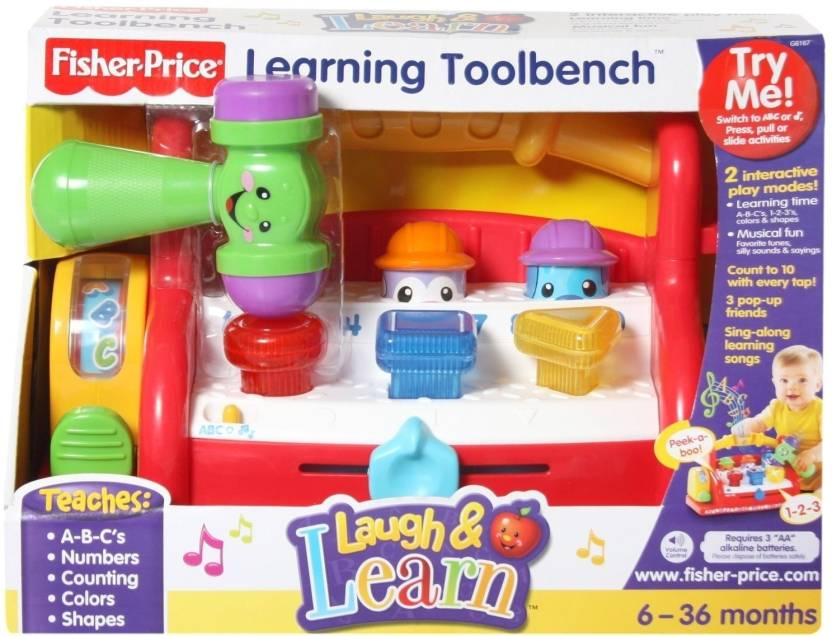 Fisher-Price Laugh & Learn - Learning Toolbench - Laugh ...