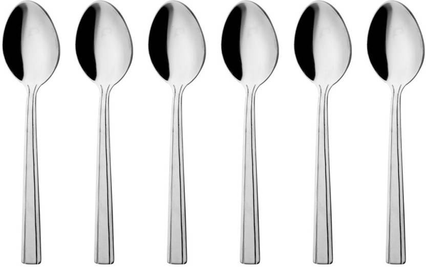 Mosaic Stainless Steel Baby Spoon Set Price In India Buy Mosaic