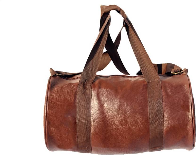 gag wears Finest Sports Bag Brown, Kit Bag
