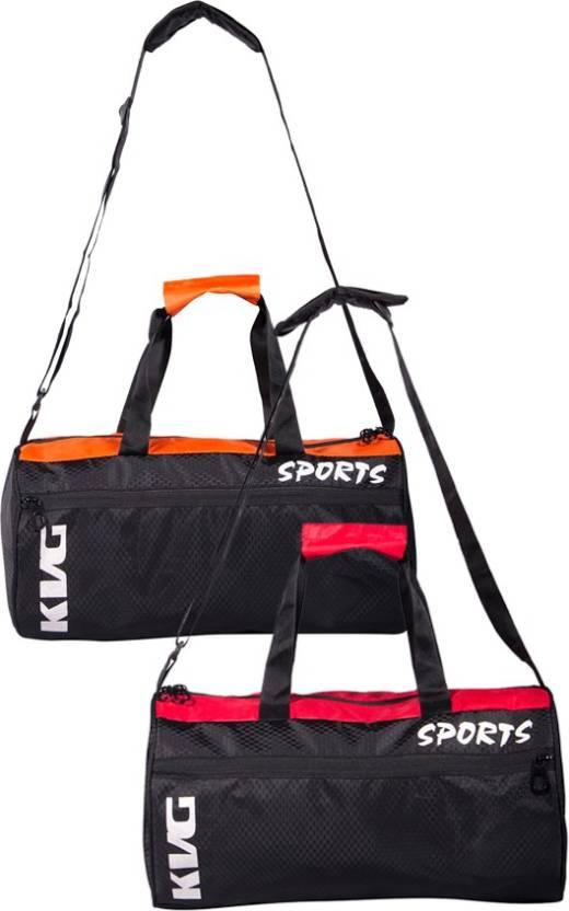 e76ba546577045 KVG SPORTS COMBO Gym Bag - Buy KVG SPORTS COMBO Gym Bag Online at ...