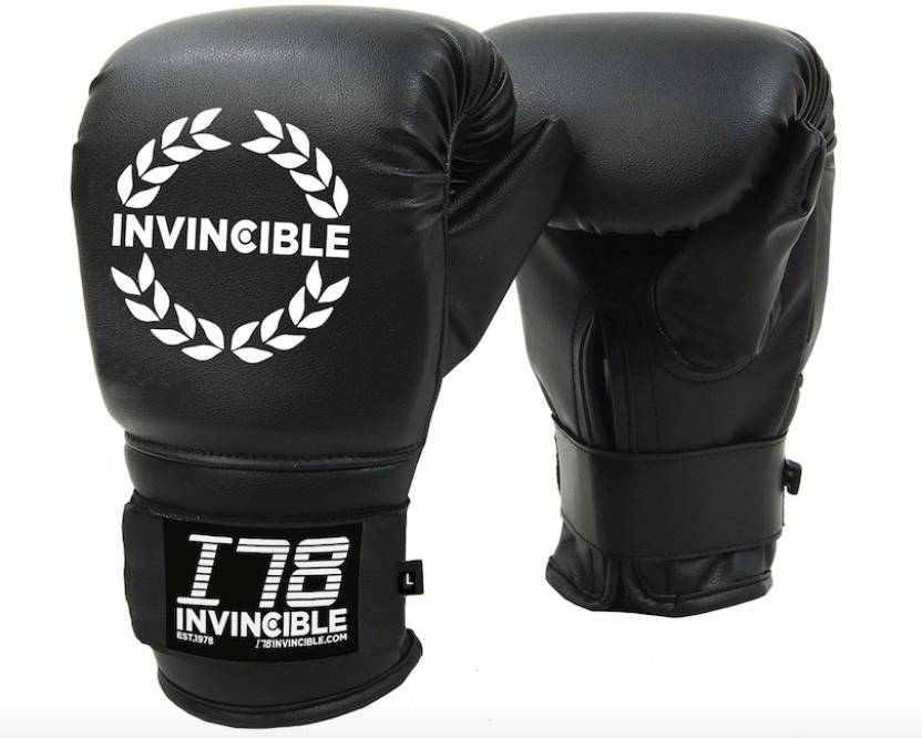 916b6853b5bf7 Invincible Cardio Fitness Boxing Gloves (L, Black) - Buy Invincible Cardio  Fitness Boxing Gloves (L, Black) Online at Best Prices in India - Boxing ...
