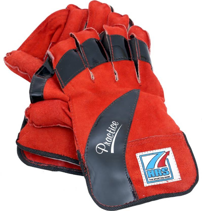 HRS Practice Wicket Keeping Gloves (Men, Multicolor)
