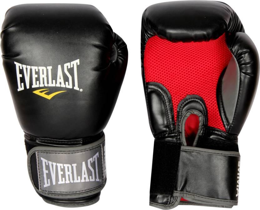 658bcab5d25a3 Everlast Pro Style Muay Thai Boxing Gloves (Black)