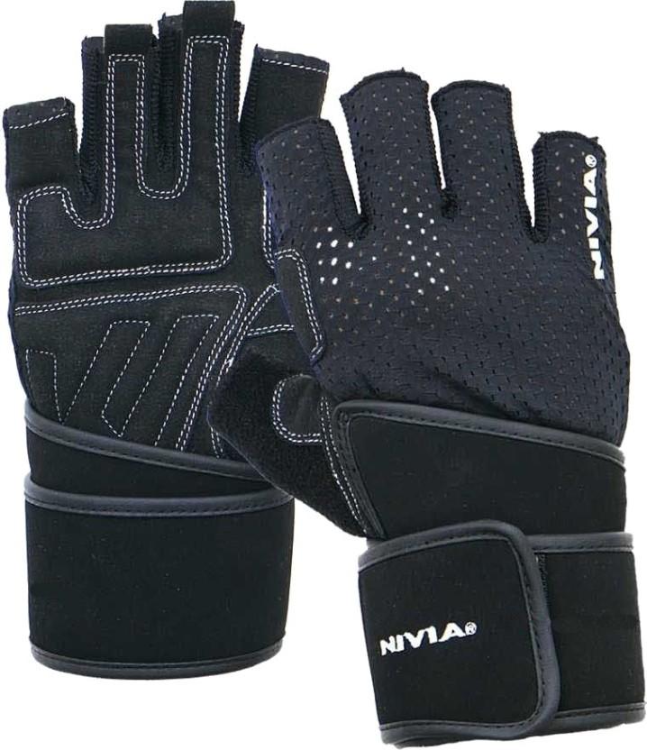 New 149 Harbinger Women/'s Pro Series Exercise Fitness Gloves MEDIUM Black Blue