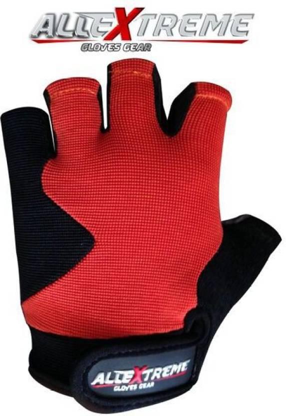 Allextreme Champ Orange Gym Fitness Gloves M Orange Buy