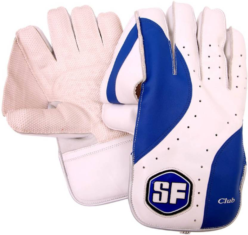 SF Club Wicket Keeping Gloves (Men, Multicolor)