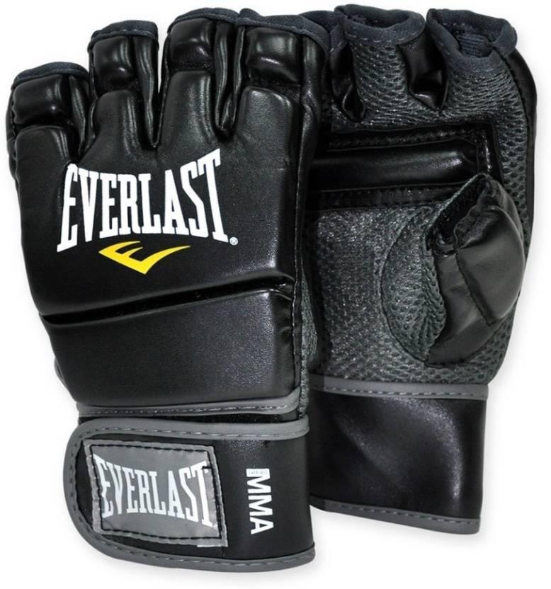 lagere prijs met nieuw kopen kosten charme Everlast MMA Kickboxing Gym & Fitness Gloves (L, Black)