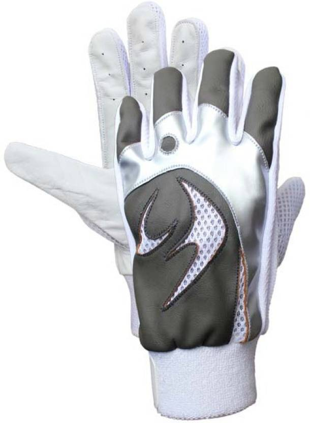 SM ICE 01 Batting Gloves (Men, White)
