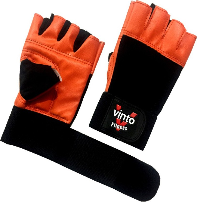Crown Gear Dominator X Strength Training Gloves Leather Crossfit Lifting Finger