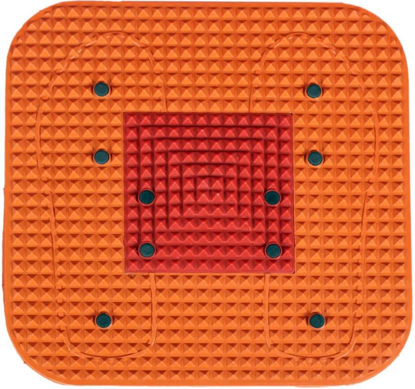 Wonder Acupressure Magnetic Orange 0.9 Mm Yoga Mat