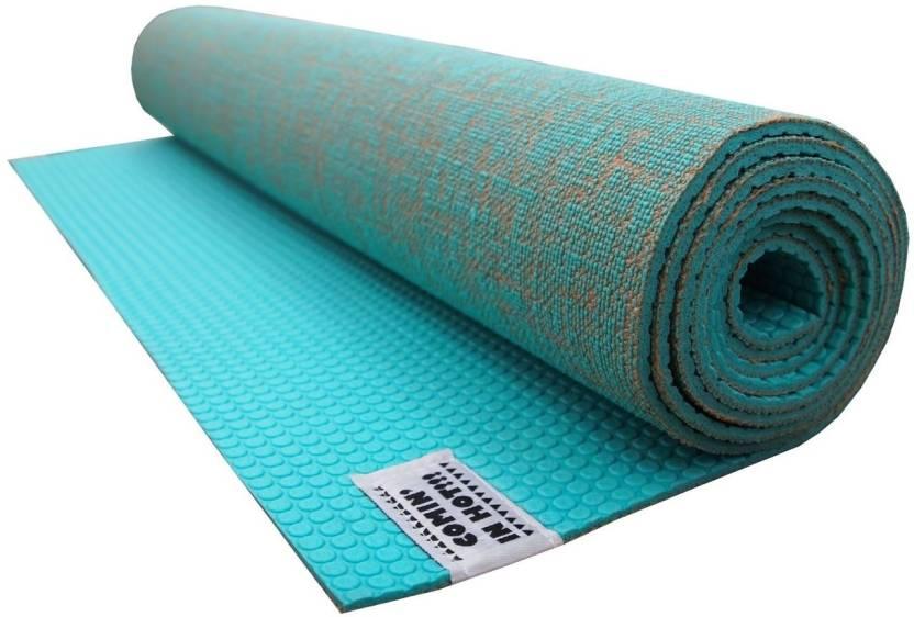Options New Exclusive Jute Multicolor 6 Mm Yoga Mat Buy