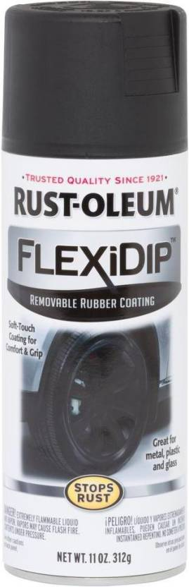 Rust-Oleum FlexiDip-Removable-Rubber-Coating Black Spray Paint 312 ml