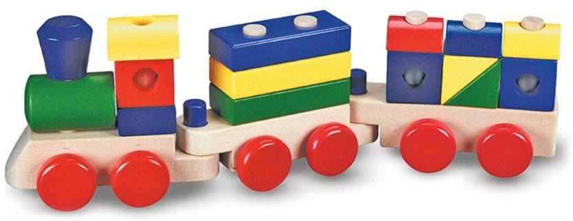 Melissa Doug Stacking Train Stacking Train Shop For