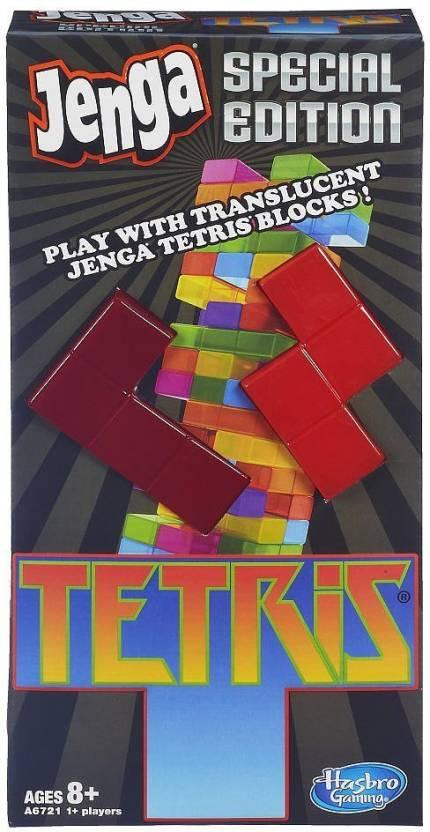 Hasbro Jenga Tetris Special Edition Game Jenga Tetris Special
