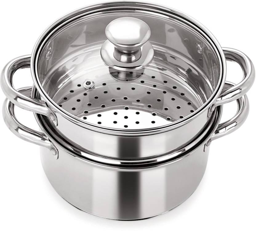Pristine Multipurpose Induction Base Stainless Steel Steamer