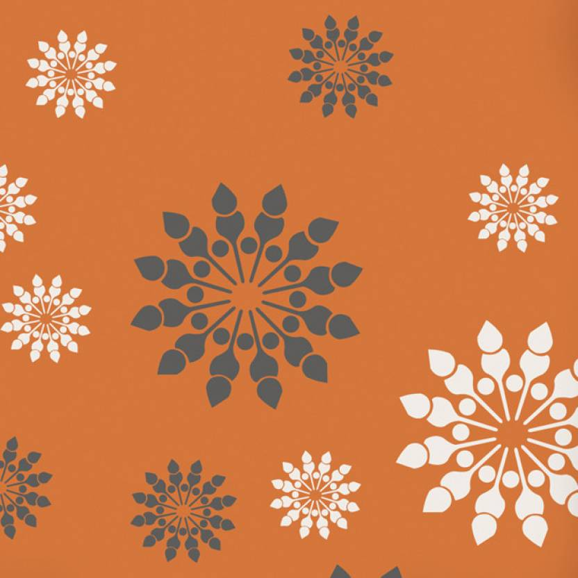 decor abstract creative and canvas rooms burnt taupe print ideas art wall design room living piece orange