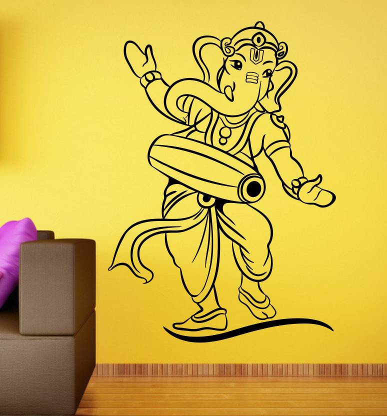 Rng Small Vinyl Ganesha Wall Stickers On Gud Quality Sticker Price
