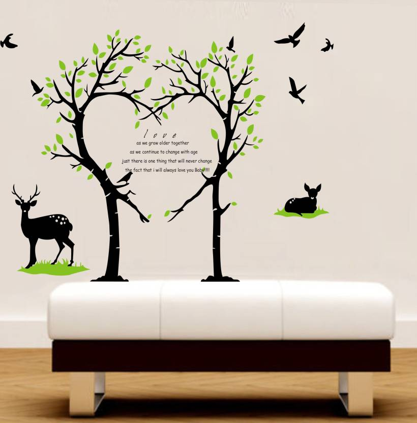 decor kafe medium wall sticker for bedroom sticker price in india
