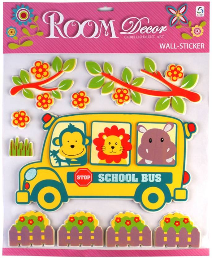 Sunboy Large Kids Room Wall Décor (Design-2) Sticker Price in India ...