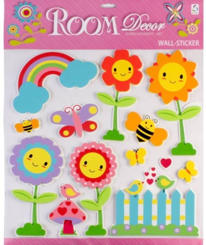 Stupendous Sunboy Large Kids Room Wall Decor Design 4 Sticker Price Home Interior And Landscaping Oversignezvosmurscom