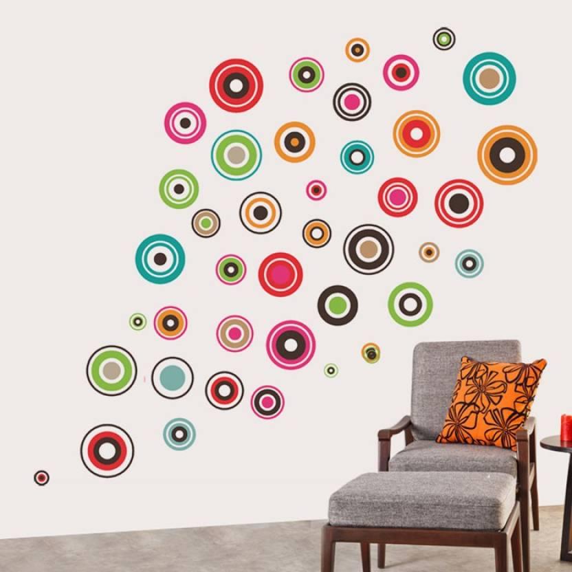 7f0b8a632ac Happy walls Extra Large PVC vinyl Sticker Price in India - Buy Happy ...