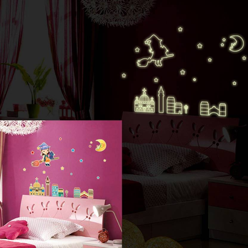 cortina small radium wall sticker sticker price in india - buy