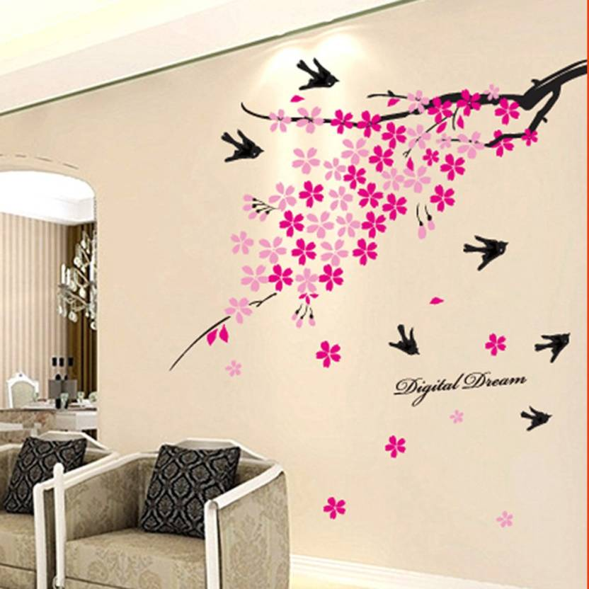 604be41dd53 Cortina Extra Large Wall Sticker Sticker Price in India - Buy ...