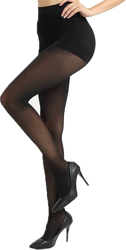 1568b0d7c Blinkin Women s Sheer Stockings - Buy Black Blinkin Women s Sheer Stockings  Online at Best Prices in India