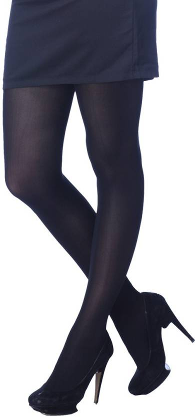2dbe57edfcc Golden Girl Women s Opaque Stockings - Buy BLACK Golden Girl Women s Opaque  Stockings Online at Best Prices in India