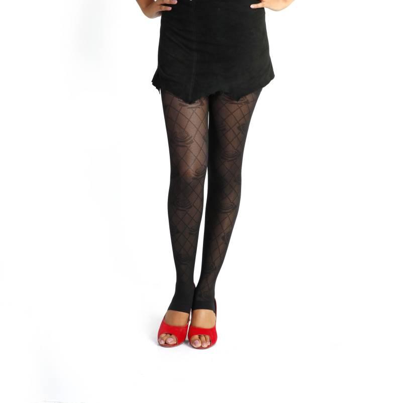 92e50771eca Golden Girl Women s Sheer Stockings - Buy Black Golden Girl Women s Sheer  Stockings Online at Best Prices in India