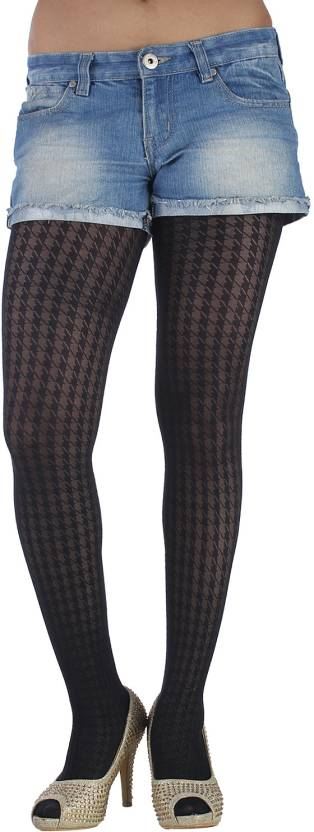 89d84b0d690 Golden Girl Women s Opaque Stockings - Buy Black Golden Girl Women s ...