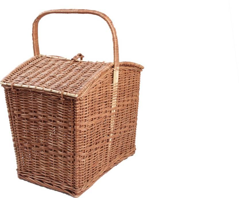 Novelty Cane Art Pkb2m12 Storage Basket