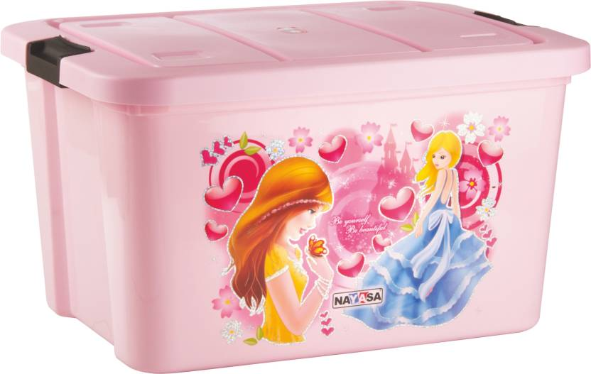 Nayasa Toy Box Big Delux Pink Storage Box Price in India Buy