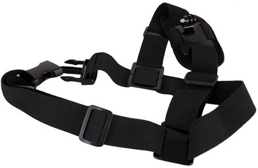 Axcess Strap Mount Single Shoulder Chest Belt Harness For Xiaomi yi Gopro Hero4 3+ 3 SJ4000 Strap