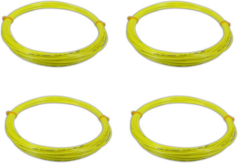 Polyfibre TCS 1.30mm   Cut From Reel 1.3 Tennis String   12 Yellow