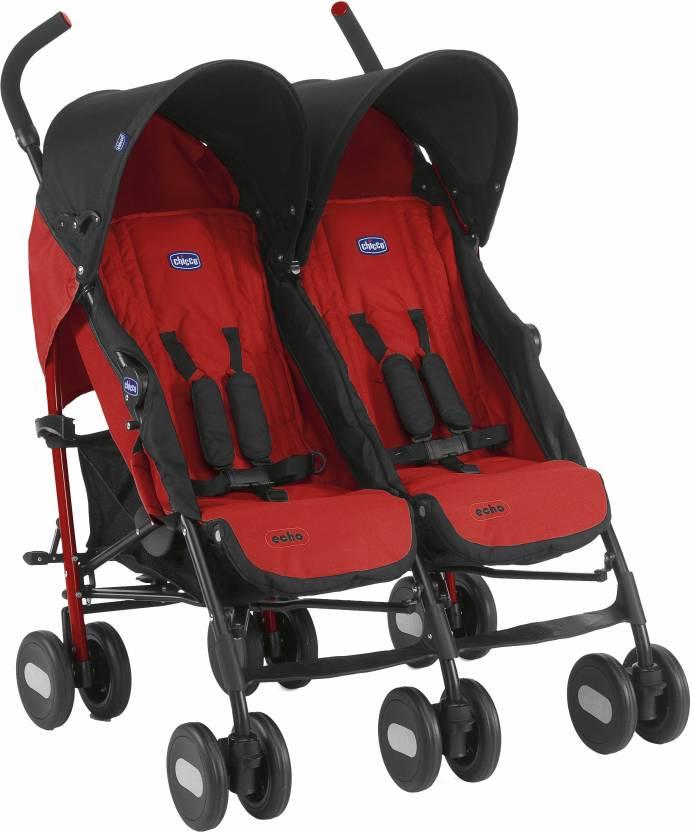 Chicco Echo Twin Stroller Garnet