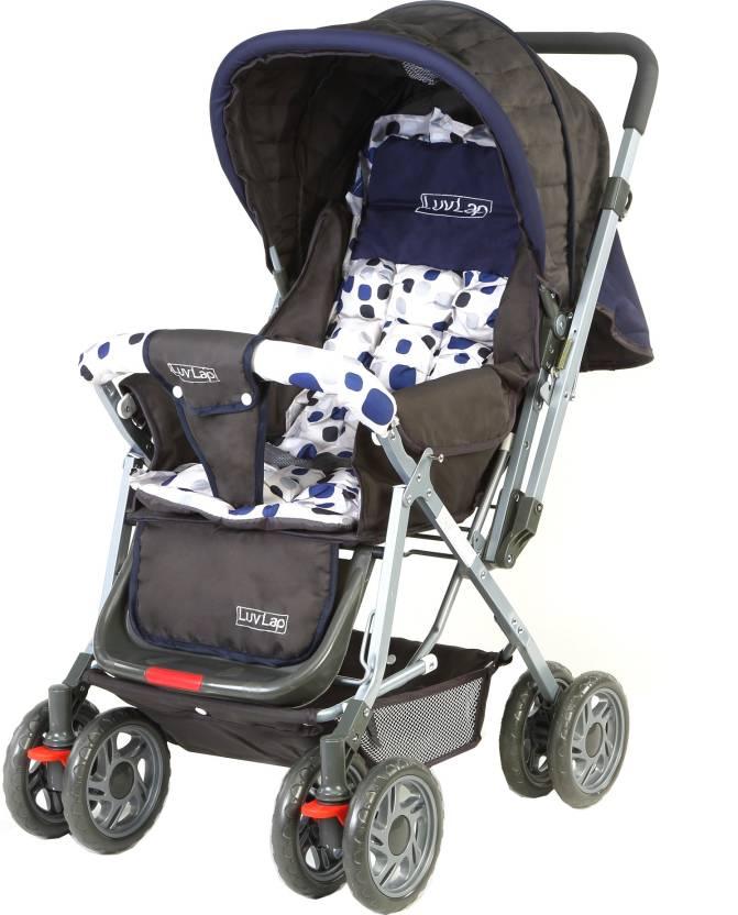 LuvLap Sunshine Baby Stroller  (3, Blue)