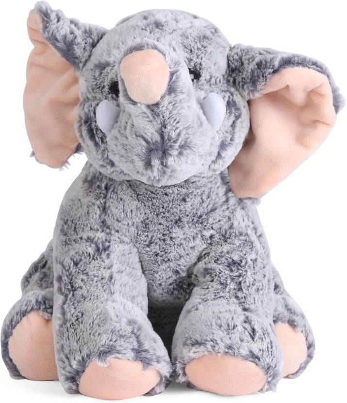 Starwalk Elephant Plush Grey Colour 29 Cm Elephant Plush Grey